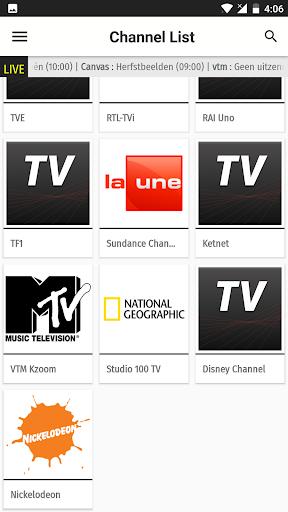 Belgium TV EPG Free 2.5 screenshots 6