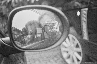 """Photo: Yashica selfy in carYashica Minister III<a href=""""http://matthewmaber.com/"""">Blog</a> · <a href=""""http://www.flickr.com/photos/somefool/"""">Flickr</a> · <a href=""""http://500px.com/MatthewMaber"""">500px</a> · <a href=""""http://gplus.to/mattmaber"""">g+</a> · <a href=""""https://www.facebook.com/mattmaberphotog"""">Facebook</a> · <a href=""""http://www.twitter.com/mattmaber"""">Twitter</a><br/>FujiFilm X100 · Nikon D90 (Nikkor 35mm f1.8, Sigma 10-20mm, Tamron 28-75mm f2.8) · Yashica Minister III"""