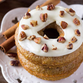 How to Make Carrot Cake Doughnuts Breakfast.