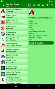 Stadium Finder- screenshot thumbnail