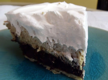 Fudge Brownie Peanut Butter Pie Recipe