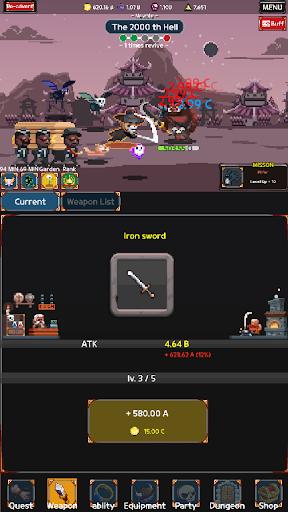 Reaper - soul stealer : idle rpg 1.628 screenshots 6