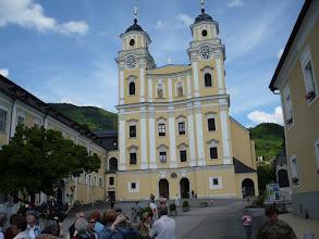 Photo: Plébánia templom Mondsee Főterén