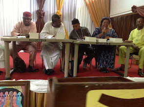 Photo: Prof Chinyere Ohiri-Aniche speaks - To her left is Dr N