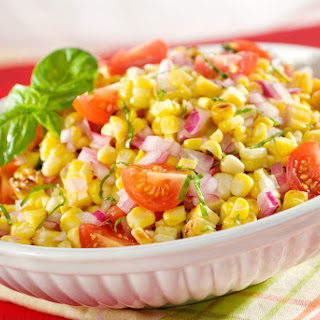 Grilled Summer Corn & Tomato Salad.