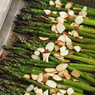 Roasted Asparagus with Cherry Balsamic Glaze