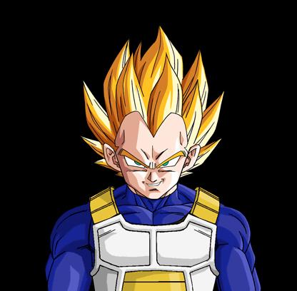 Anime Vegeta From Dragon Ball Z
