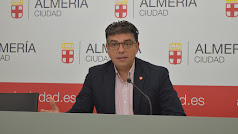 Miguel Cazorla, portavoz de Ciudadanos en el Ayuntamiento de Almería