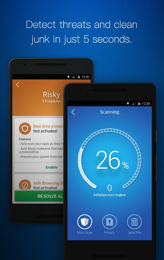 CM Security Antivirus AppLock- screenshot