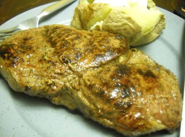 Worcestershire Marinated Steak Recipe