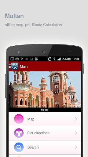 Multan Map offline