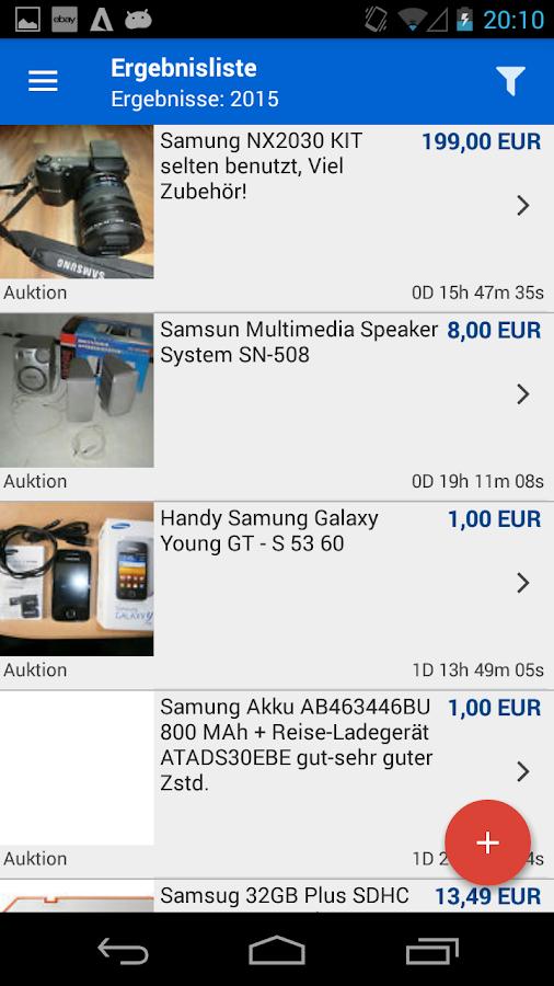 My local ebay deals mapper