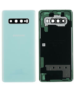 Galaxy S10 Plus Back Cover Prism White
