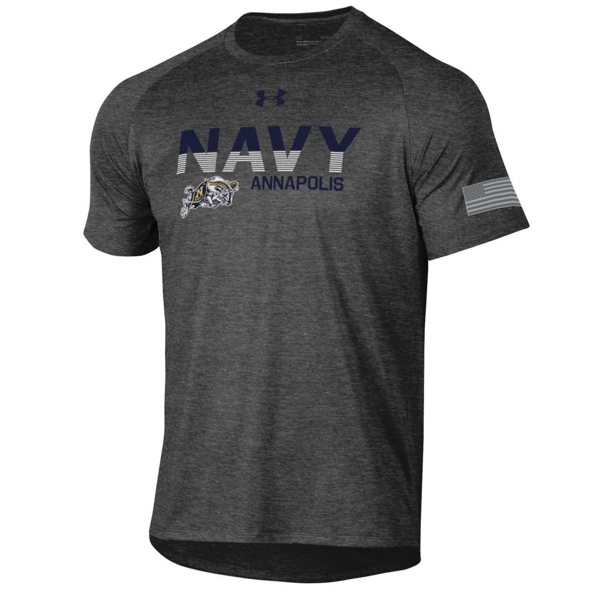 Navy Goat tee