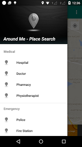 android Around Me - Places (Search) Screenshot 2