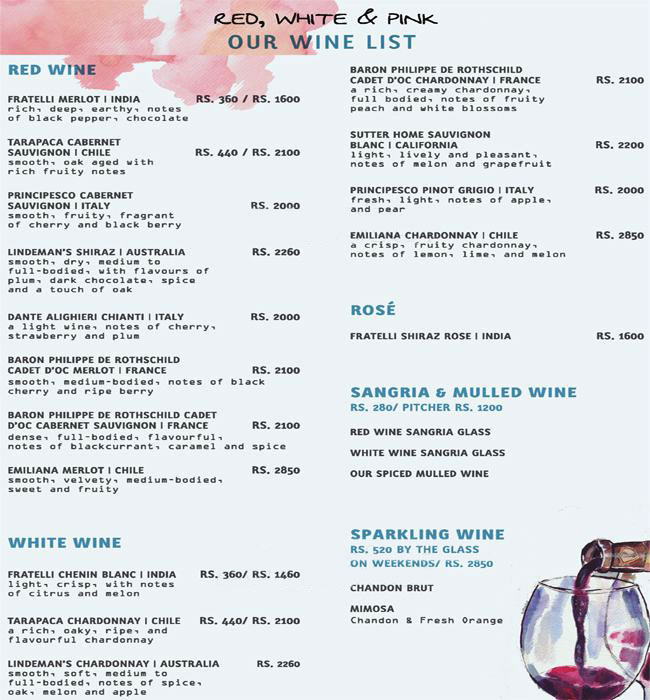 Coast Cafe menu 5