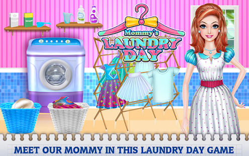 Mommy's Laundry Day - náhled