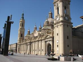 Photo: Public square in Zaragossa