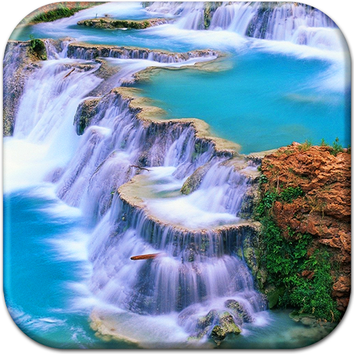 Great Waterfall Live Wallpaper Icon