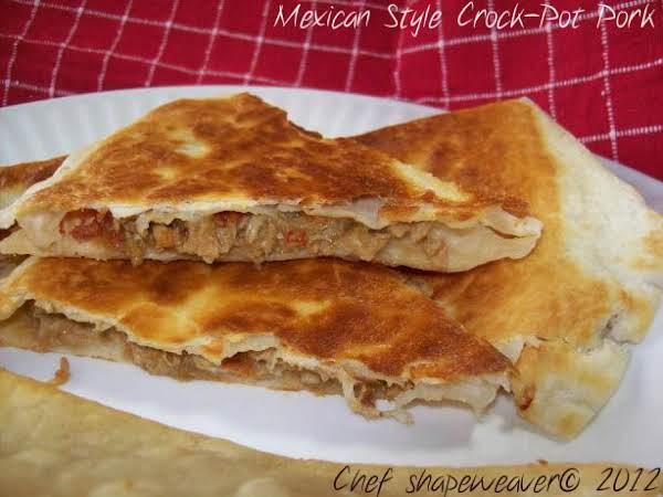 Mexican Style Crock-pot Pork Recipe
