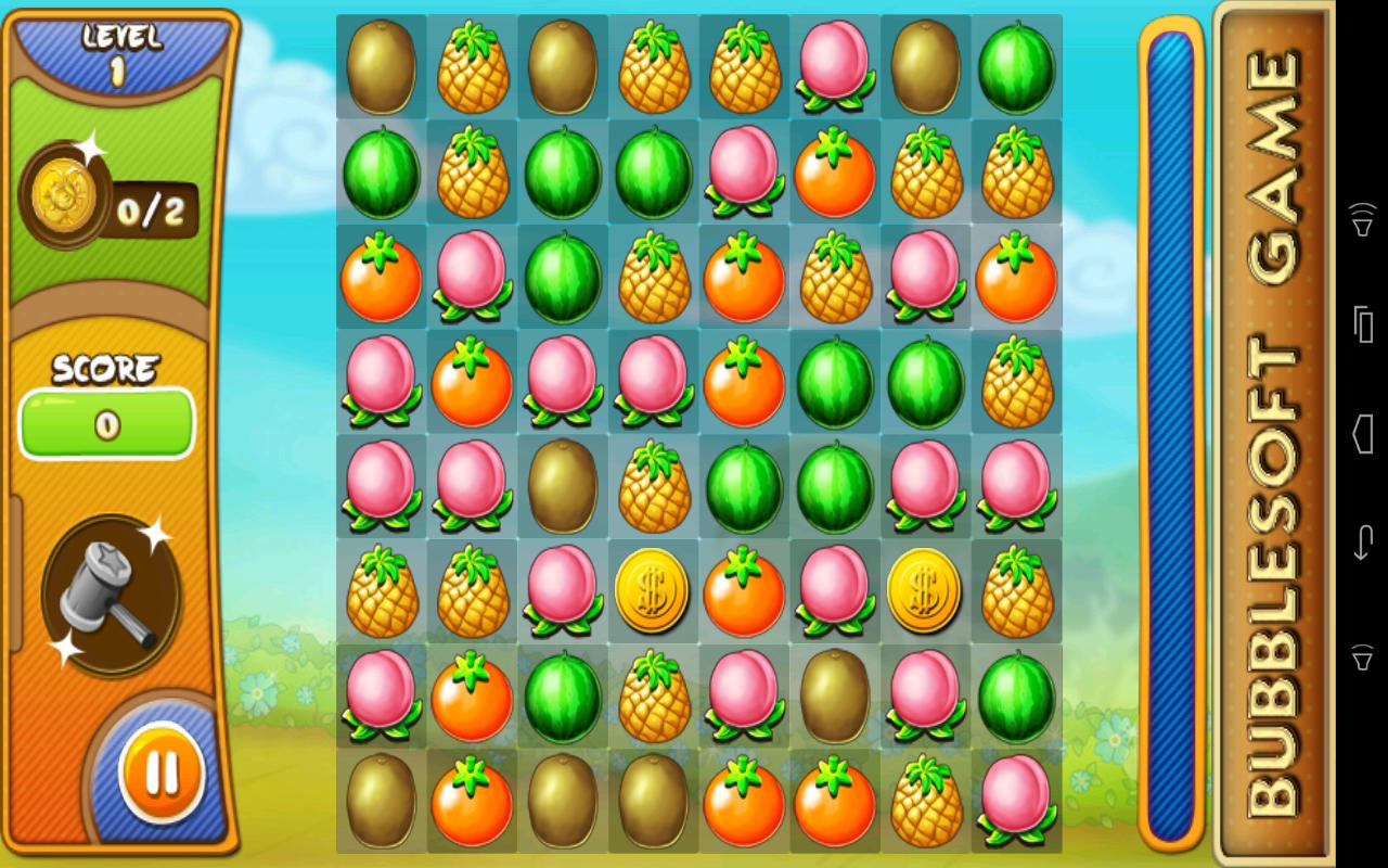 Bubble fruits game - Fruit Break Screenshot