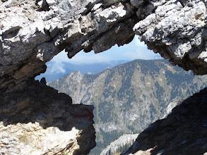 Photo: Fensterl im Kamm der Ammergauer Alpen