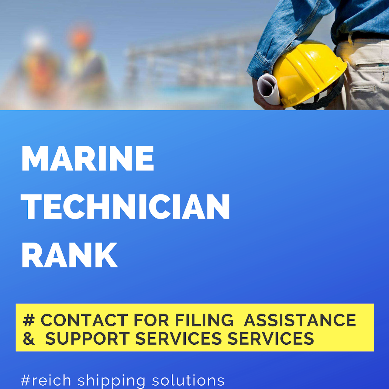 Reich Shipping Solutions (Filing Assistance - Seaman Books, CDC