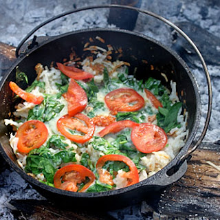 Dutch Oven Hash Browns