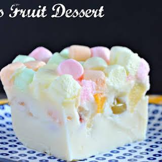Tita's Fruit Dessert #SundaySupper.