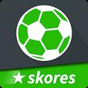 SKORES - Live Football Scores icon