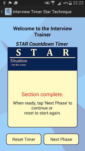 Interview STAR Timer Technique screenshot 2