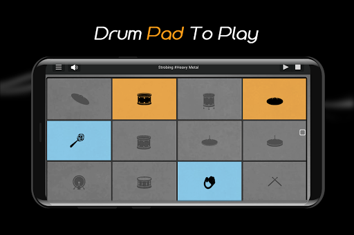 Easy Real Drums-Real Rock and jazz Drum music game  screenshots 6
