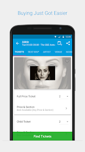 Ticketmaster IE Event Tickets- screenshot thumbnail