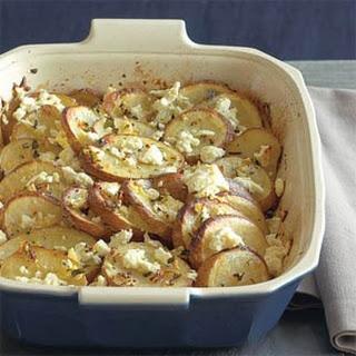 Greek-style Lemon Potatoes.