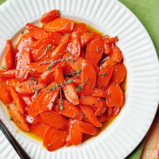 Honey-Glazed Carrots with Thyme & Lemon