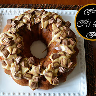 Caramel Candy Wreath Cake