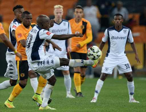 Ben Motshwari of Wits controls the ball during the Absa Premiership match between Kaizer Chiefs and Bidvest Wits at FNB Stadium. Picture Credit: Gallo Images