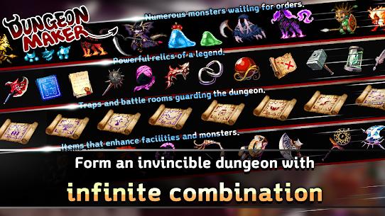 Dungeon Maker MOD Apk 1.9.3 (Unlimited Money/Stones/Magic Souls) 5