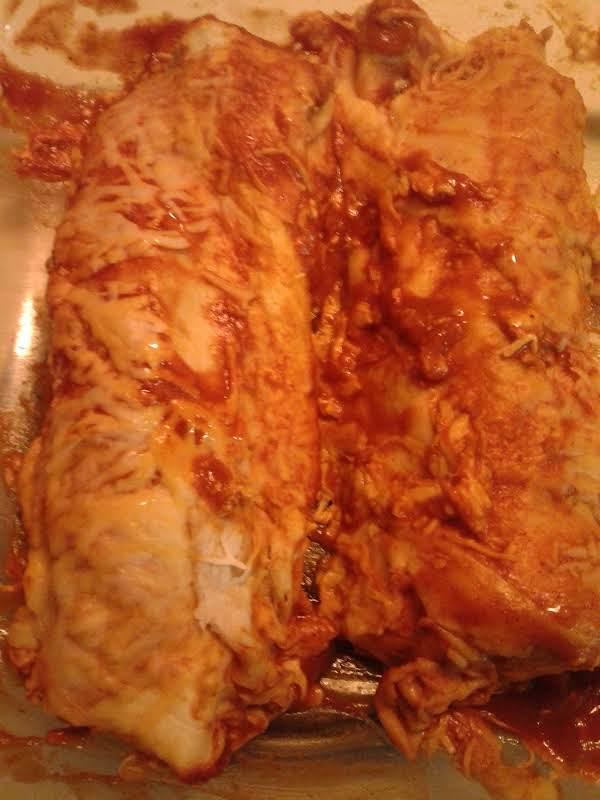 Beef & Black Beans Enchiladas