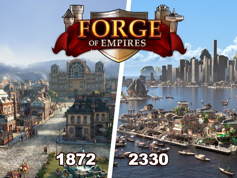 Forge of Empires Android App Screenshot