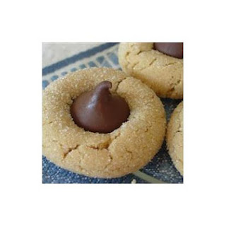 Peanut Kiss Cookies