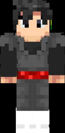Iron Shovel Minecraft Black goku Foda | Nova...