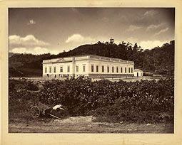 Photo: Hospital Santa Teresa. Foto de 1876
