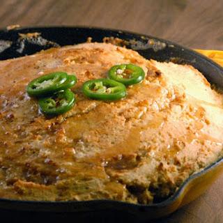 GF Skillet Cornbread with Jalapeño Honey