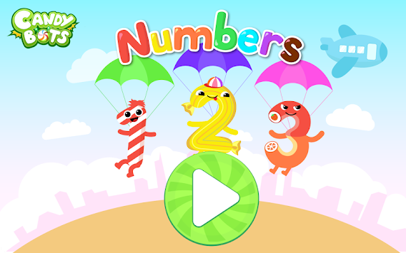 Candy 123 Numbers Writing FREE APK Screenshot Thumbnail 7