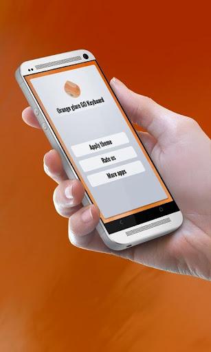 無料个人化Appのオレンジグレア GO Keyboard|記事Game