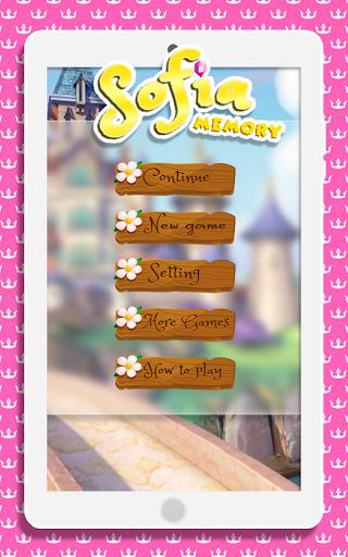 Memory Sofia Girls Kids 1.1 screenshots 1