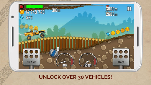 Hill Climb Racing  gameplay | by HackJr.Pw 2