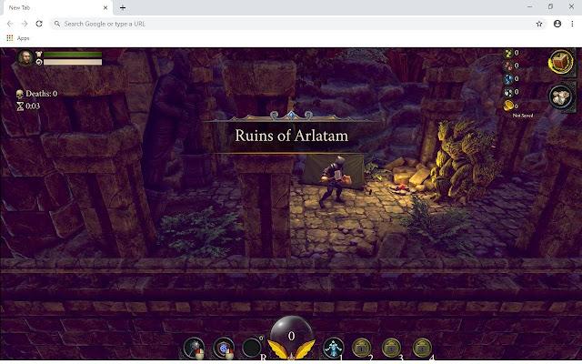 Azuran Tales Trials Wallpapers and New Tab