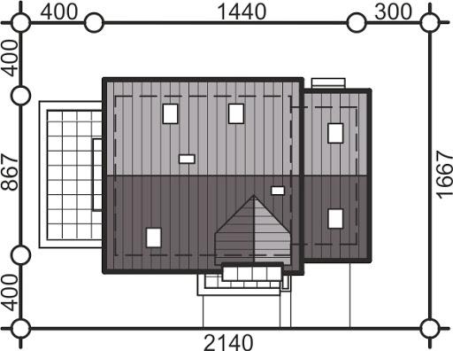 Pinczer 8 z garażem - Sytuacja